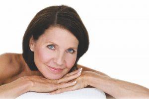 Older woman with beautiful skin