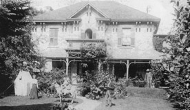 Old Photo of the Spa at Ancaster